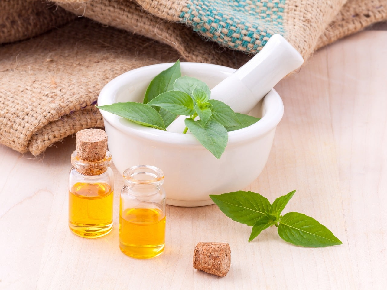 creation d'huile aux plantes