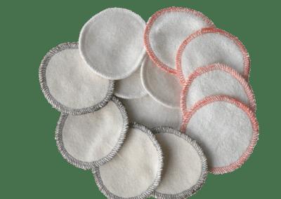 cotons démaquillants lavables bio