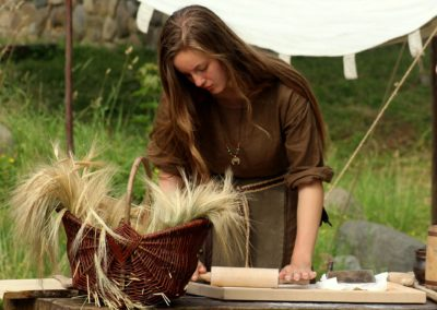 Atelier cuisine sauvage été 2020 domaine de l'oiselière