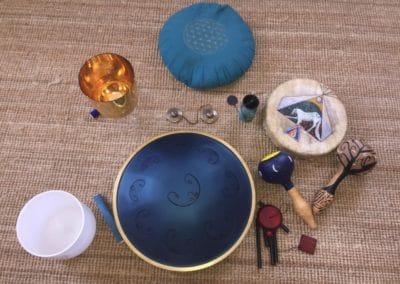 Instant découverte soins sonores à la boutique 3/07/20